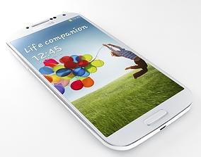 SAMSUNG Galaxy S4 White 3D