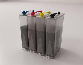 3D model Continuous Ink System