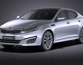 3D Kia Optima Sport Package 2015 VRAY