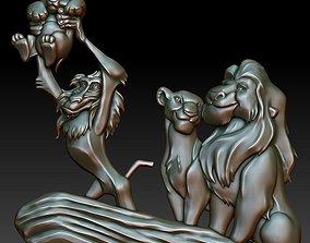 Panno Lion King 3D model