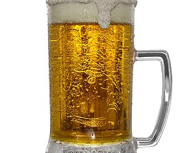 Gambrinus Beer 3D