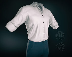 Casual Suit Style 2 3D asset