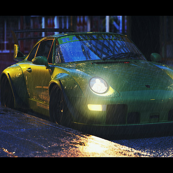 Porsche 911 GT2 RWB