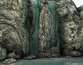 3D model Waterfall