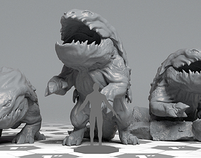 Bullete - DnD Monster - 2 Poses 3D print model