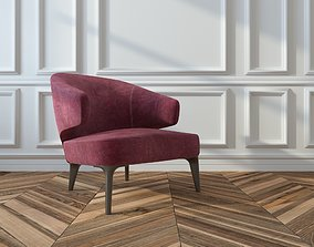 Minotti-Armchair 3D model