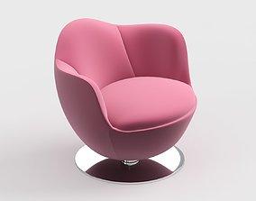 3D model armchair modern 70