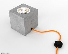 Q Floor lamp by Davide Groppi 3D model