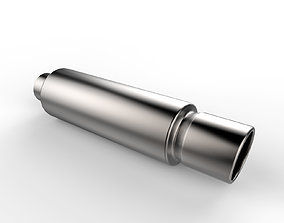 3D model Exhaust Pipe v2