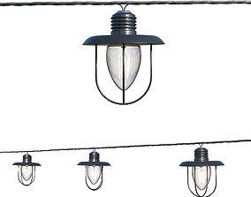 3D String Lights Edison Lamps indoor