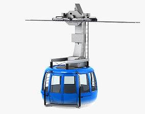 3D model Cablewaycar 003