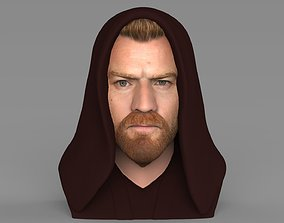 Obi Wan Kenobi Star Wars bust ready for full color 3D