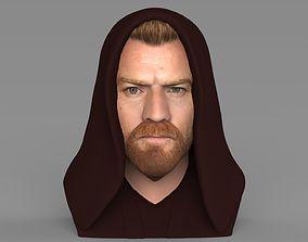 Obi Wan Kenobi Star Wars bust ready for full color 3D