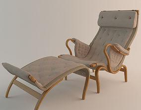 3D Bruno Mathsson Pernilla Chair DUX