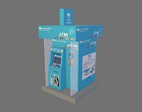 3D model ATM Kiosk