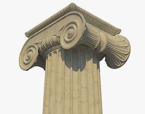 3D Ionic column c