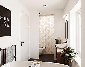 3D Nice Little Bathroom