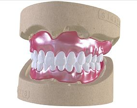 3D printable model Digital Full Dentures with Combined 2