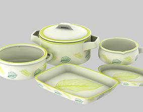 3D PBR Terracotta Pots