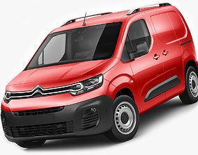 Citroen Berlingo Van 2019 3D