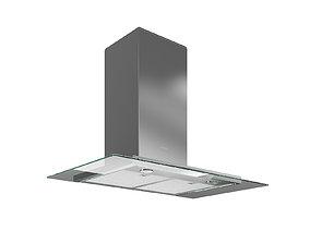 Wall-mounted hood DA 5798 W 893 mm by MIELE 3D model