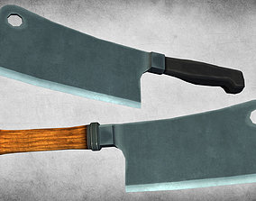 Meat Cleavers 3D model