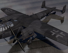 3D model Dornier Do-217N-2 Nachtjager