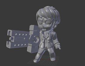 3D print model Crossgun Merc