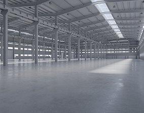 Factory Hall Interior 5 3D model