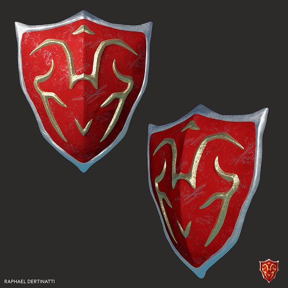 Crown Shield - inspired by Tibia game