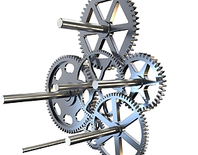 Gear mechanism v4 3D