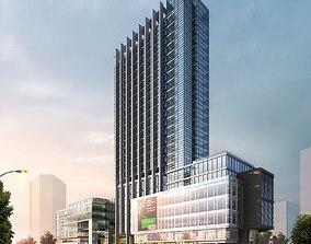 3D model Exotic Commercial Building Design