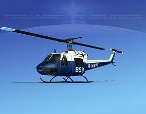 Bell UH-1B Iroquois RAAN 3D