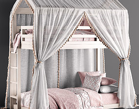 3D RH Cole House Bed
