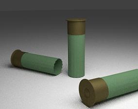 Shotgun rounds 3D model