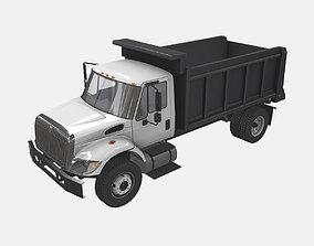 Dump Truck International 7400 2 3D model