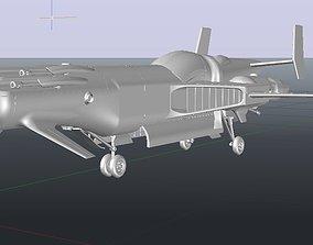 Aerospace fighter 3D printable model
