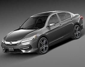 3D Honda Accord 2016