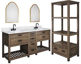 3D Sagehill Designs Blake Vanity Set