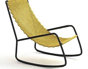 Living Divani FLOW Garden armchair 3D