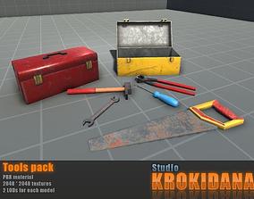 Tools pack 3D asset