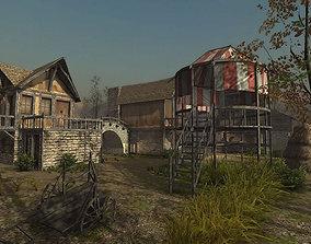 Medieval Village 3 3D model