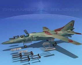 MIG-27 Flogger Mongolia 3D