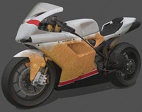 Ducati 1098R 2012 3D asset