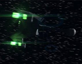 3D model Star Trek The Original Series Klingon D-7 Battle