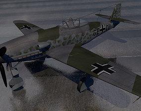 Messerschmitt Me-309 v1 3D model