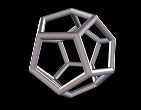010 Mathart - Platonic Solids - 3D printable model 4