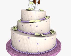 3D Weeding Cake