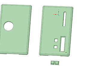 Billetbox Panels rev 4 with cutouts 3D print model