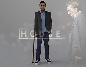 MD Gregory House ready for full color 3D